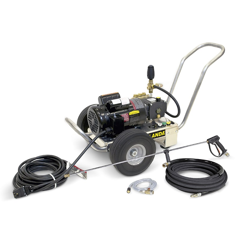 HD Electric Portable, Electric-Powered, Cold Water Pressure Washer